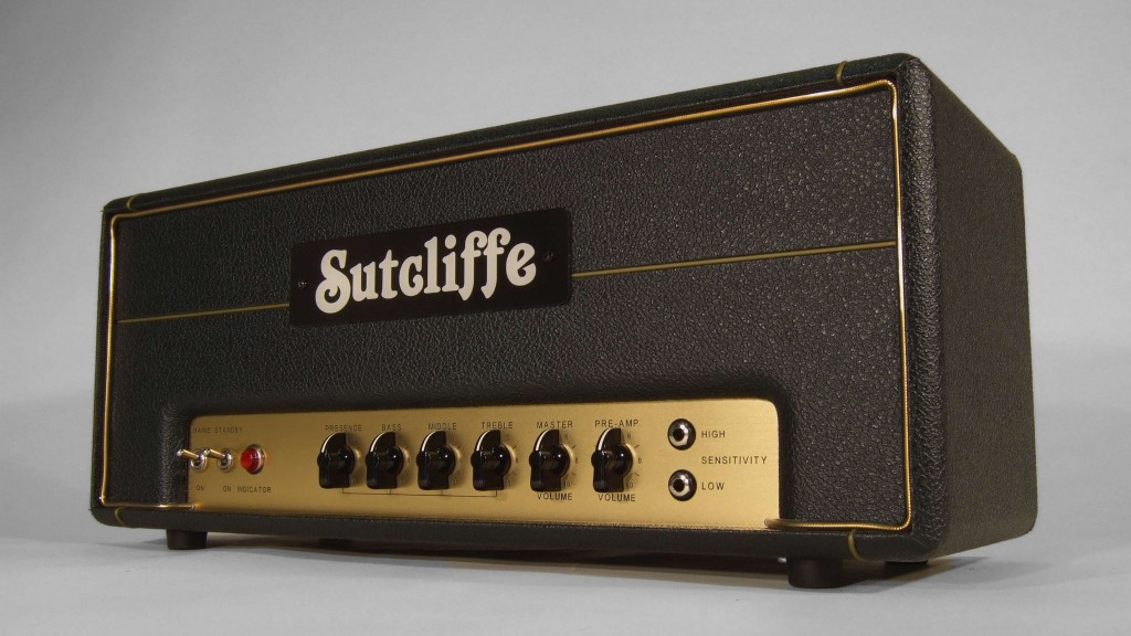 Sutcliffe JM800 amplifier head