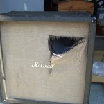 Marshall JTMC410 Cab in for speaker grill repair