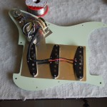 New electronics installed into strat